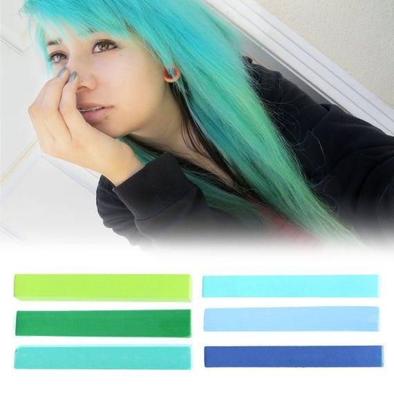 The Best 6 Best Temporary Blue Ombre Hair Dye For Dark And By Pictures