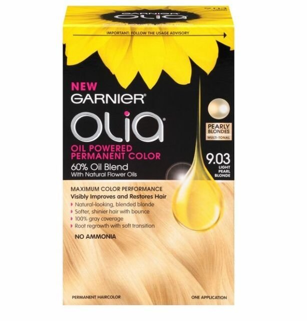 The Best Garnier Olia Oil Powered Permanent Haircolor Light Pearl Pictures