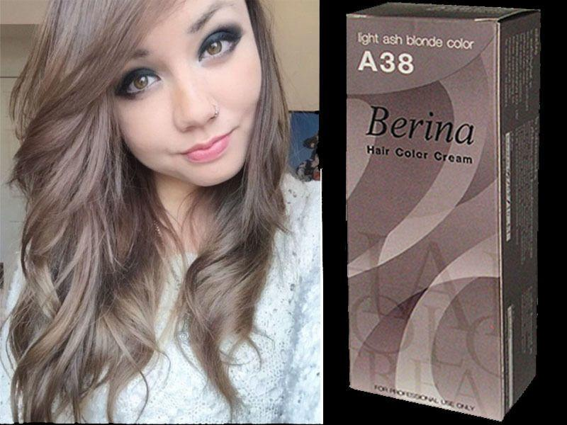 The Best Berina Permanent A38 Color New Hair Dye Cream Light Ash Pictures