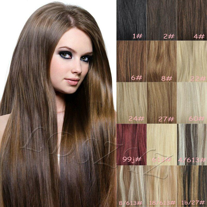 The Best 80G 100G 120G 140G Clip In Remy Human Hair Extensions Full Pictures