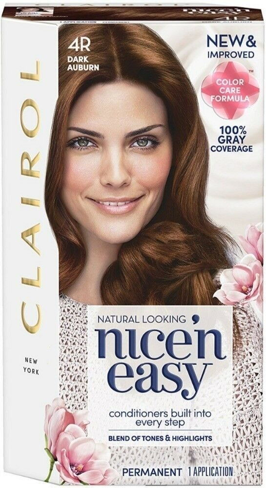 The Best Clairol Nice N Easy Permanent Hair Color 4R Dark Pictures