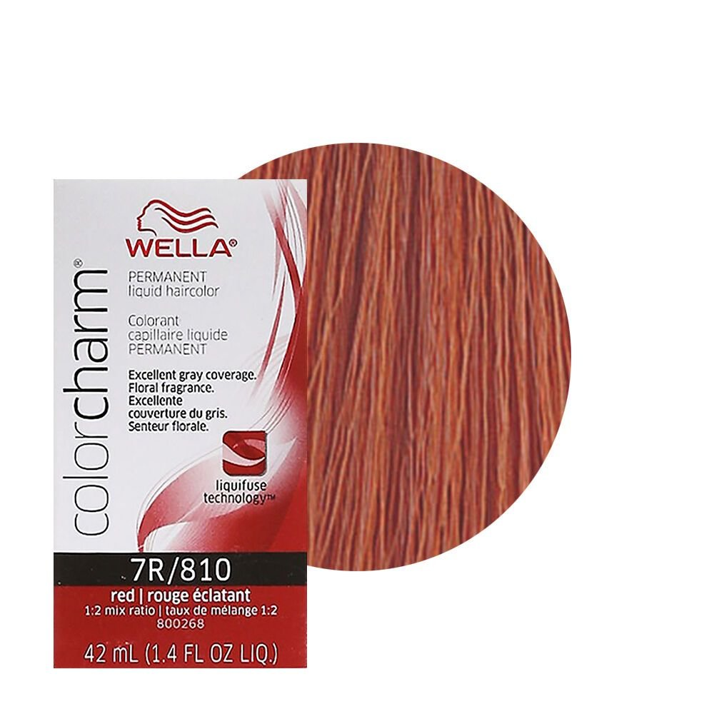 The Best Wella Color Charm Permament Liquid Hair Color 42Ml Red 810 Pictures