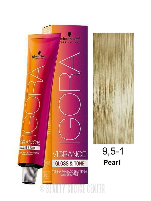 The Best Schwarzkopf Igora Vibrance Gloss Tone Hair Color 9 5 1 Pictures