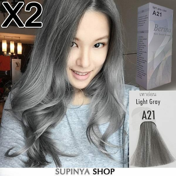The Best 2 Boxes Berina Permanent Hair Color Cream Hair Style Dye Pictures