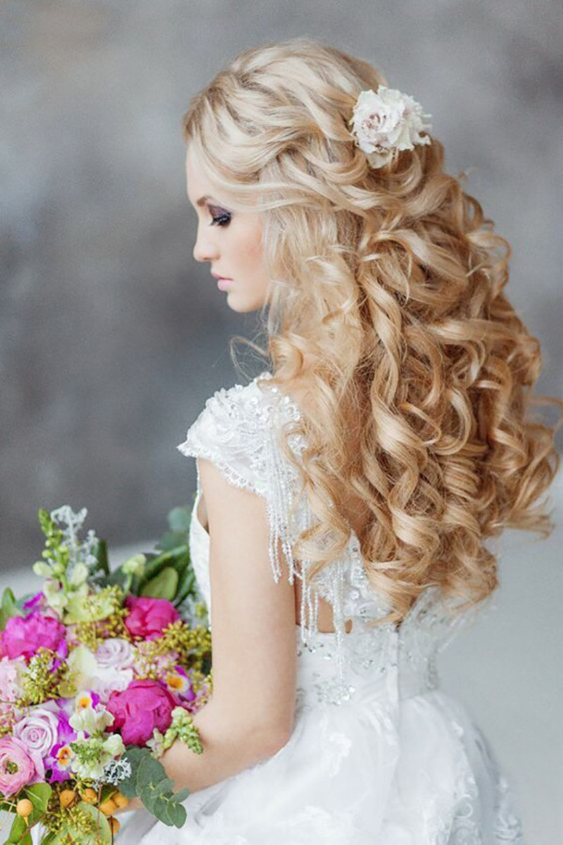 The Best 20 Gorgeous Wedding Hairstyles For A Summer Wedding Pictures