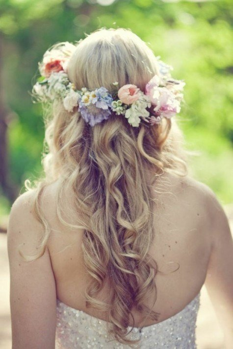 The Best How To Create A Flower Wreath Headpiece My View On Pictures