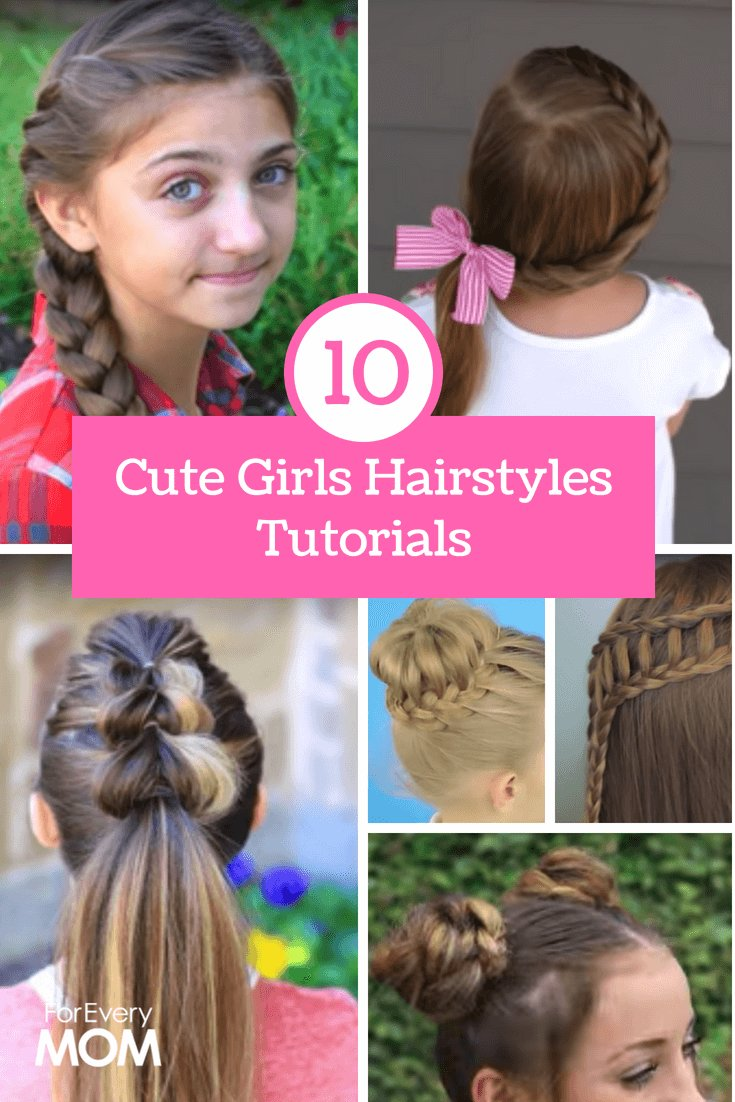 The Best Cute Girls Hairstyles Tutorials Top 10 Of All Time For Pictures