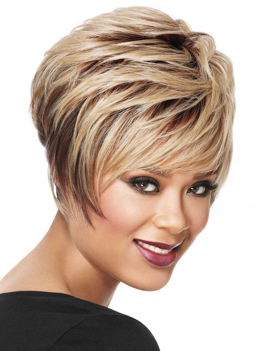 The Best Stacked Bob Synthetic Wig By Now By Luxhair Pictures
