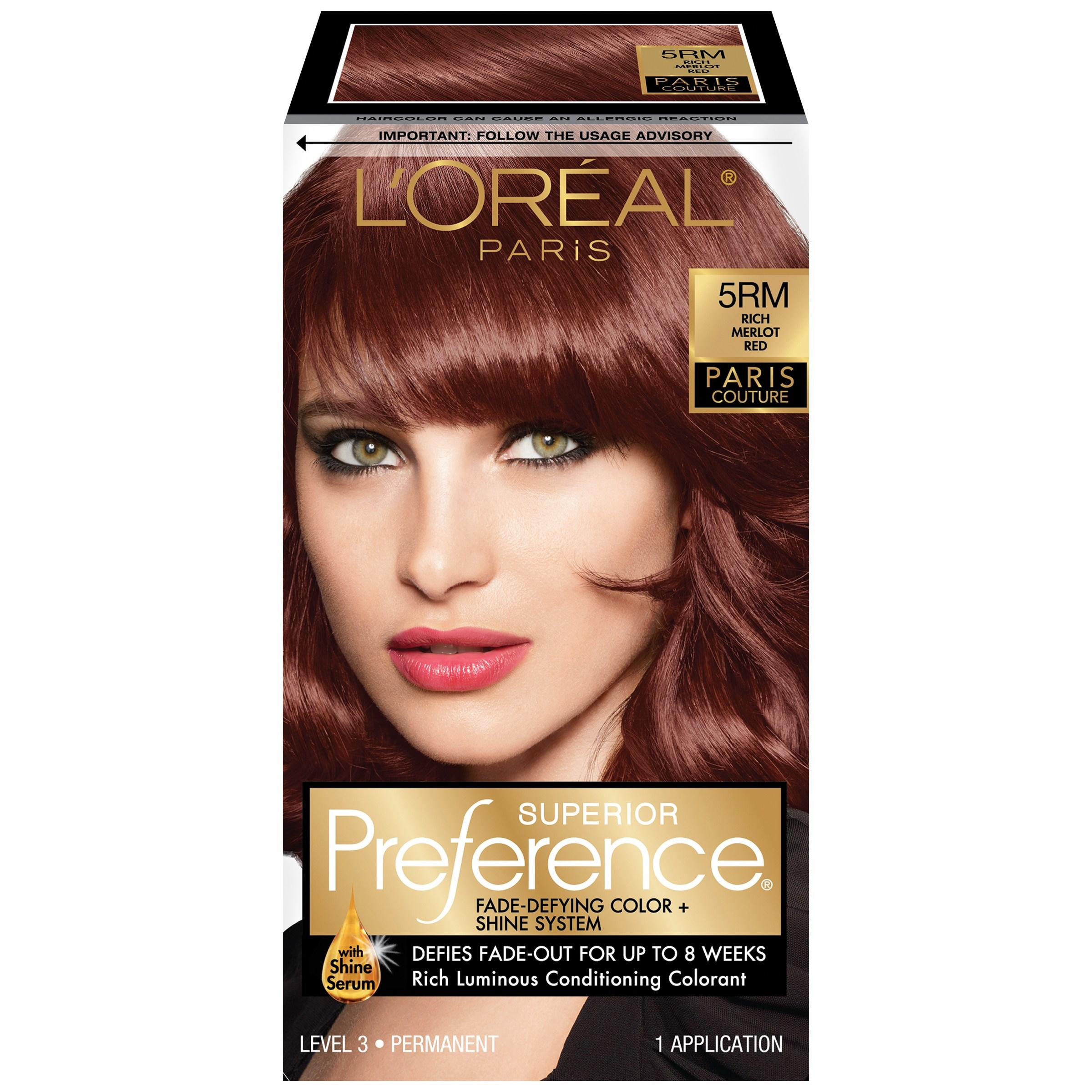 The Best L Oreal Superior Preference Paris Couture Rich Merlot Red 5Rm Pictures