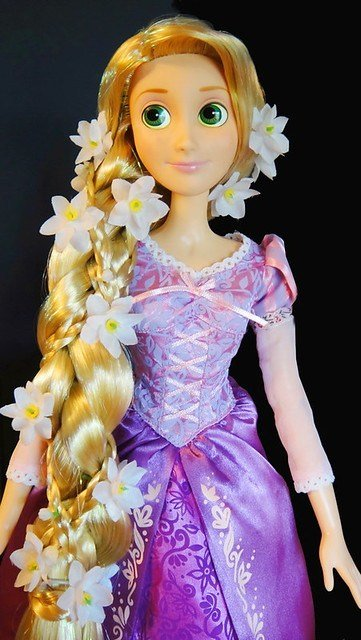 The Best Disney Store Tangled Rapunzel 17 Singing Doll Hair Pictures