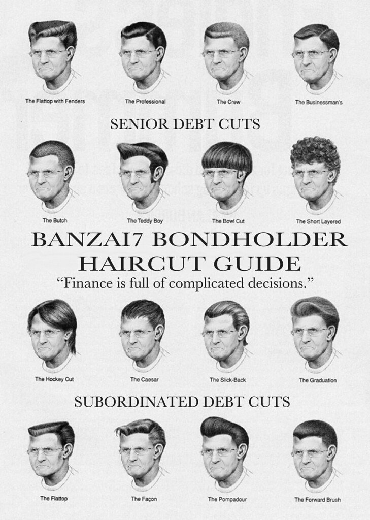 The Best Official Bondholder Haircut Guide Williambanzai7 Colonel Flick Flickr Pictures