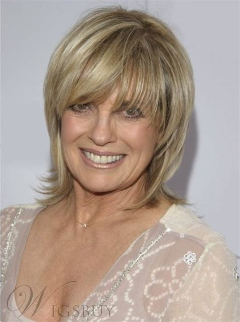 The Best Linda Gray Hairstyle Short Layered Straight Human Hair Pictures