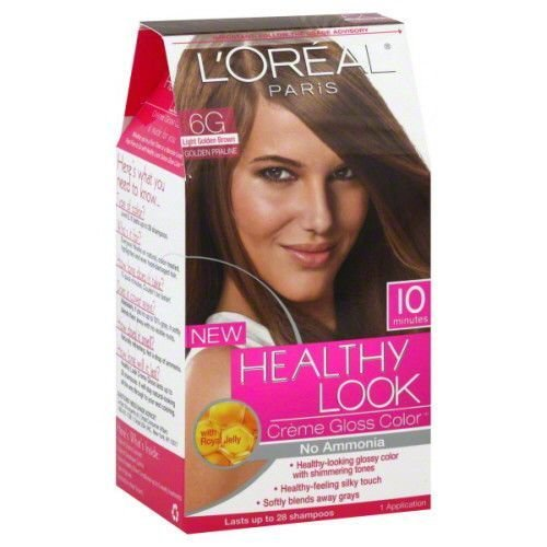 The Best L Oreal Healthy Look 6G Light Golden Brown No Ammonia Hair Pictures