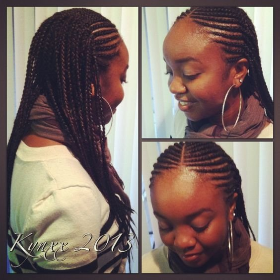 The Best One Of My Favorite Styles – Amber Frank Did My Two Layer Cornrows Just Like This Braids Pictures