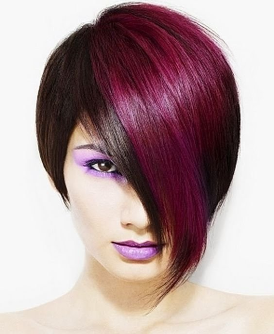 The Best Funky Hair Color Ideas For Short Hair Hair Stuff D Pictures