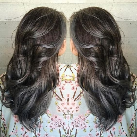 The Best Shades Of Pewter And Charcoal Hair Color By Janai Of Butterfly Loft Salon Hotonbeauty Facebook Pictures