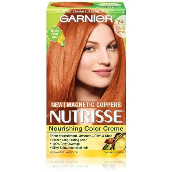 The Best Garnier Hair Color Nutrisse Nourishing Color Creme 74 Lightest 5 09 Liked On Polyvore Pictures