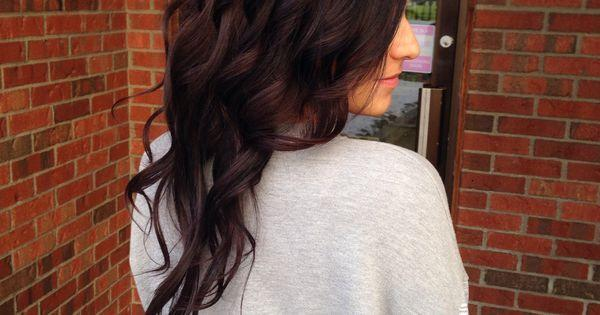 The Best Warm Rich Mahogany Red Brown Lanza Hair Color Pictures