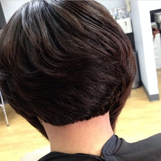 The Best Short Bob Hairstyles For Black Women Back View Hair Pictures