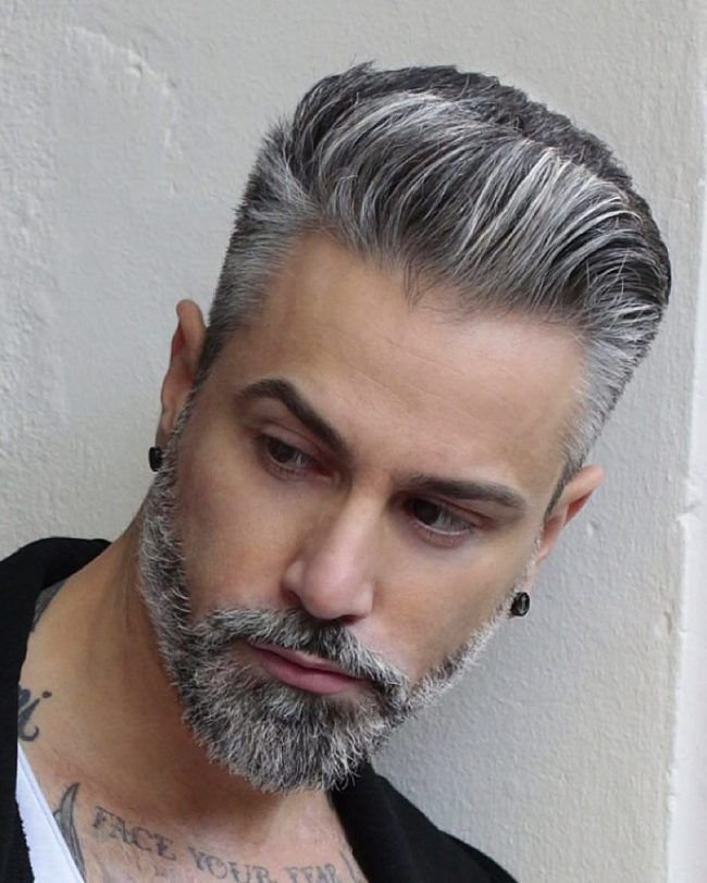 The Best 25 Best Ideas About Silver Hair Men On Pinterest Grey Pictures