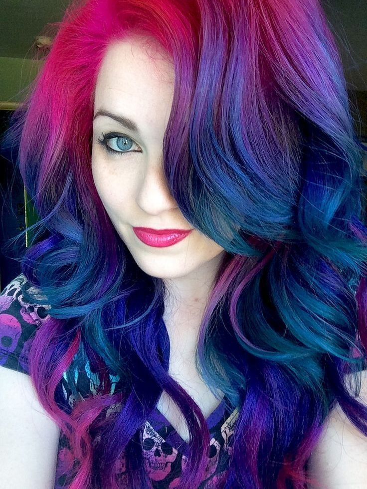 The Best Best 25 Galaxy Hair Color Ideas On Pinterest Galaxy Pictures