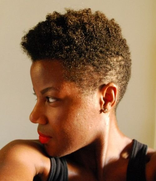 The Best Mohawk Hairstyles For Black Women With Short Hair If Your Pictures