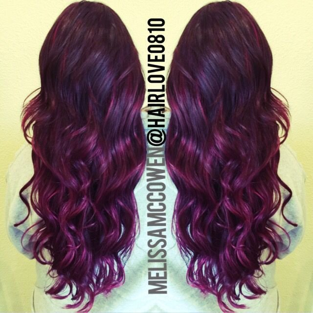 The Best 25 Best Ideas About Plum Hair Highlights On Pinterest Pictures