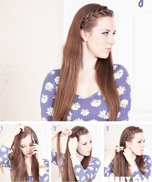 The Best 17 Best Ideas About Braided Bangs Tutorial On Pinterest Pictures