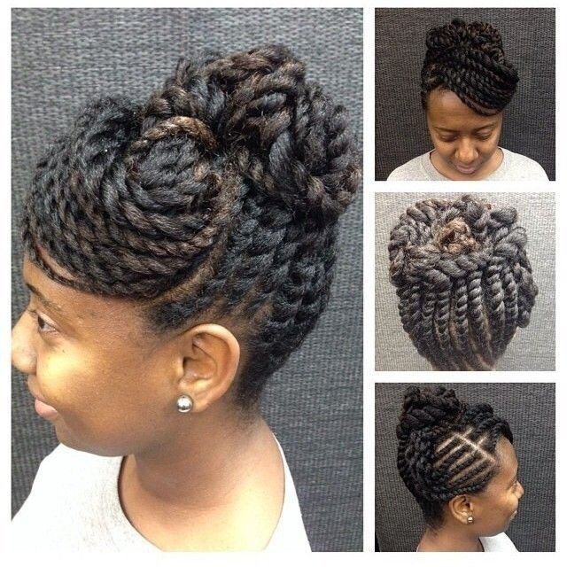 The Best Best 25 Two Strand Twist Updo Ideas On Pinterest Pictures