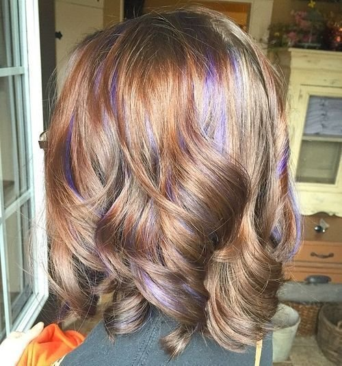 The Best 20 Pretty Ideas Of Peek A Boo Highlights For Any Hair Pictures
