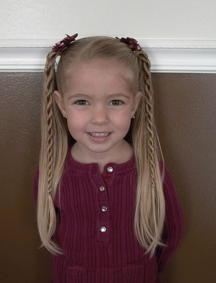 The Best Only Best 25 Ideas About Easy Little Girl Hairstyles On Pictures