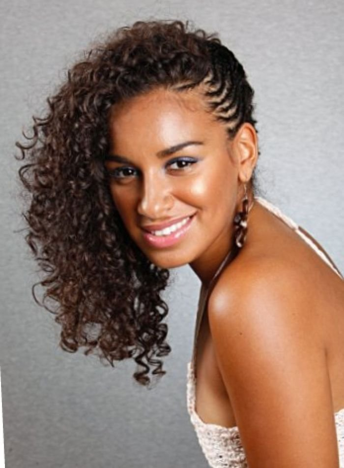 The Best Natural Hairstyles For Black Women Long Curly Hair Braided Pictures
