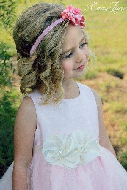 The Best Cute Flower Girl Hair And Headband Flower Girl Headband Pictures