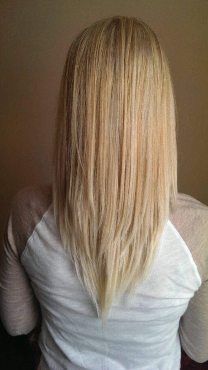 The Best Vcut Blonde Long Layers Pretty Hair Long Hair Cut Ideas Style Hairs Pinterest My Pictures