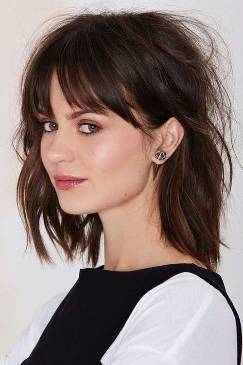 The Best 25 Best Ideas About Long Bob Bangs On Pinterest Long Pictures