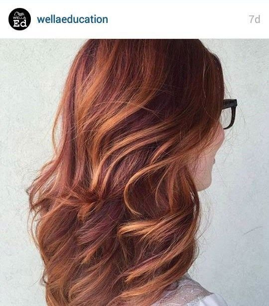 The Best Pumpkin Spice Hair Ombre To Spice Up Your Autumn Pictures