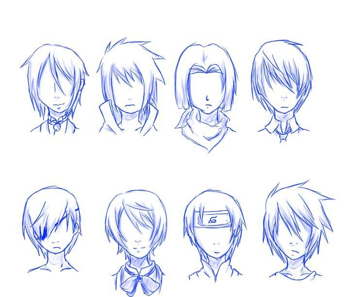 The Best Guy Hair Styles Especially For Anime Drawing Ideas Pictures