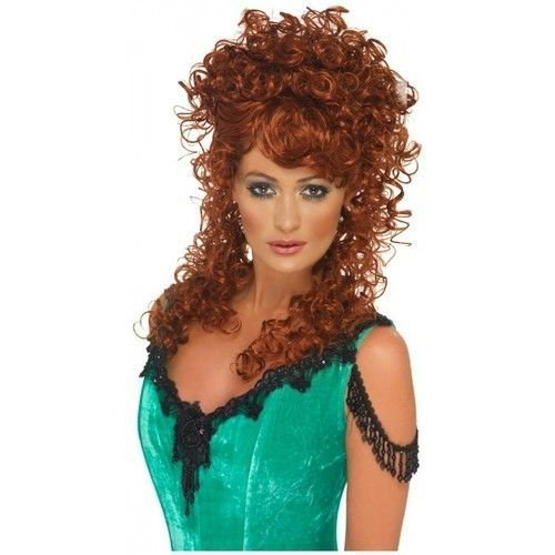 The Best Saloon Girl Wig Costume Accessory *D*Lt Womens Halloween Pictures