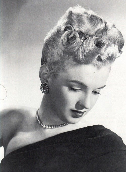 The Best 271 Best Images About 1940 S Hairstyles On Pinterest Ann Pictures
