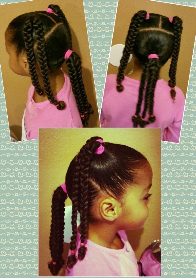 The Best Mixed Black Braids Girls Kids Curly Curls Natural Hair Pictures