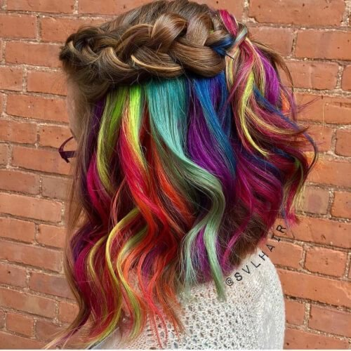The Best Best 25 Underneath Hair Colors Ideas On Pinterest Pictures