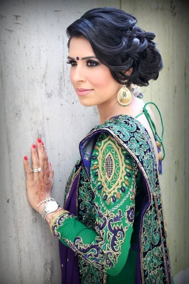 The Best Bollywood Bride Hairstyles Bollywood Brides Pinterest Bridal Hairstyle Pictures