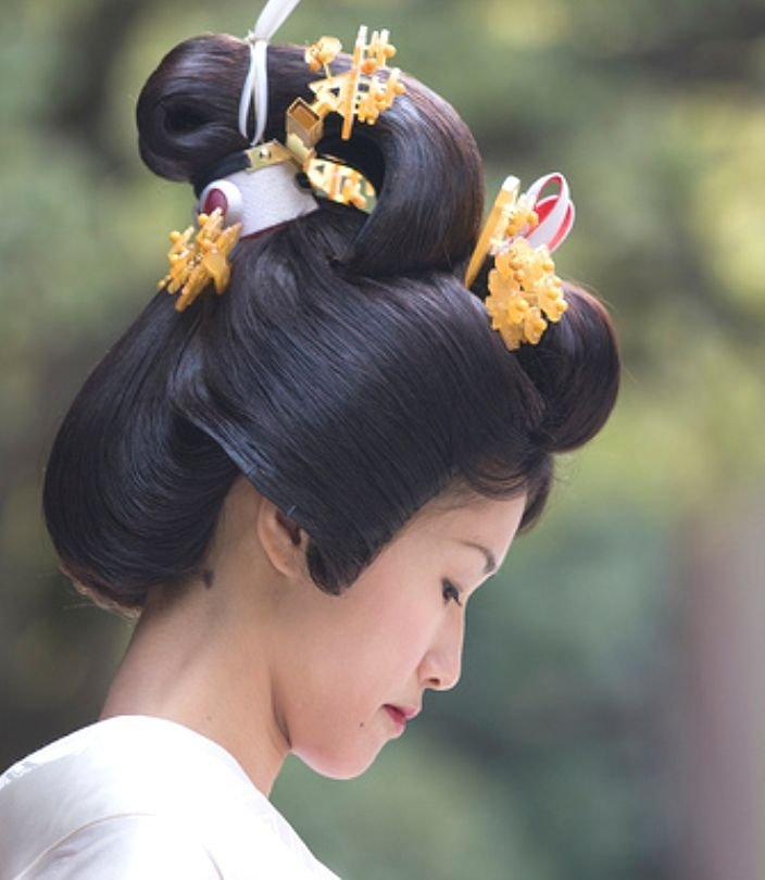 The Best Japanese Bunkin Takashimada Samurai Bride Style Traditional Asian Hairstyles Pinterest Pictures