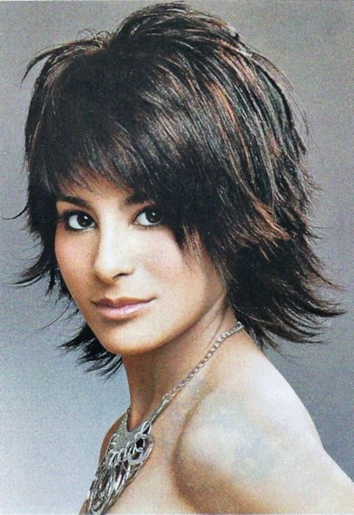 The Best 15 Must See Short Shaggy Hairstyles Pins Short Layered Pictures