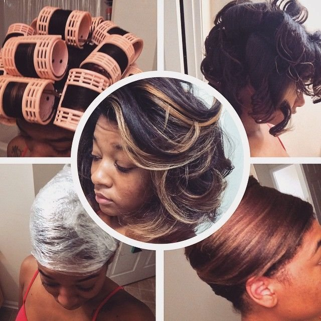 The Best Jaime Renee S Natural Hair Hooded Dryer Roller Set Pictures