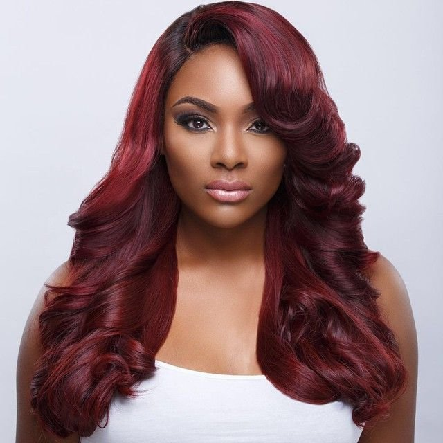 The Best Red Hair On Dark Skin Black Women Google Search Hair Pictures