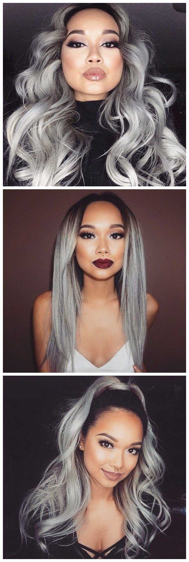 The Best 25 Best Ideas About Grey Hair Styles On Pinterest Gray Pictures