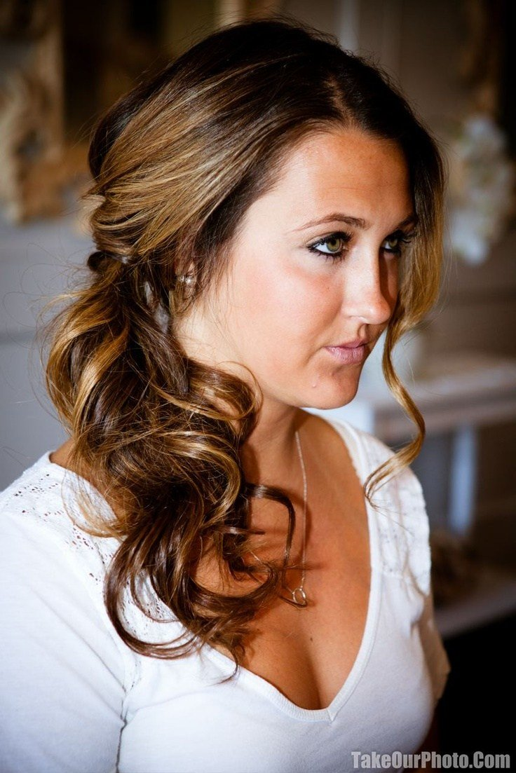 The Best 17 Best Ideas About Side Ponytail Wedding On Pinterest Pictures