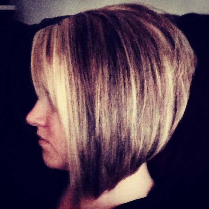 The Best Stacked Bob Hairstyles Back View Stacked Angled Bob Pictures
