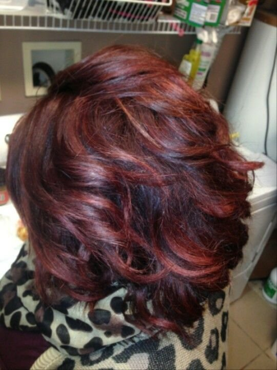 The Best Red Hair Redken Chromatics 6Rr And 5Rv Hair Pinterest Pictures